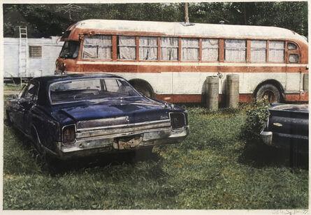 John Salt, 'Blue Oldsmobile', 1977