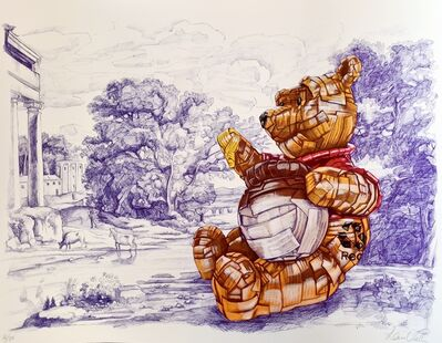 Laurence Vallières, 'Winnie The Pooh Is Recyclable', 2021