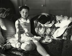 """Sally Mann, 'Untitled from the """"At Twelve"""" Series, Lithe and Birthday Cake', 1983-1985"""