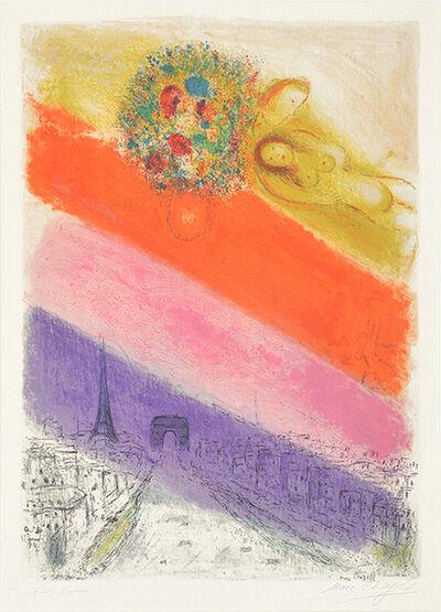 Marc Chagall, 'Les Champs-Elysées', 1954