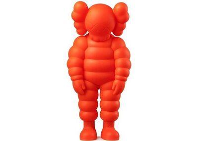 KAWS, 'What Party Figure (Orange)', 2020