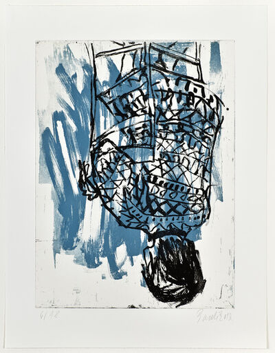 Georg Baselitz, 'Norweger rückwärts/ Nowegian backwardsIV', 2013