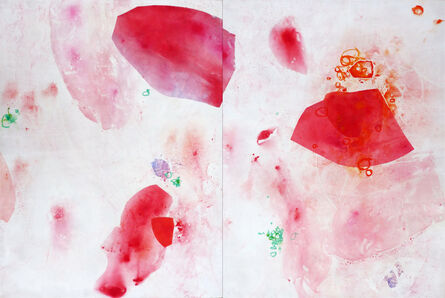 Ahavani Mullen, 'Above (diptych)'