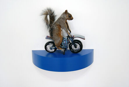 Angus M. Powers, 'The Squirrels - blue', 2018