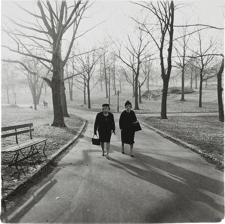 Diane Arbus, 'Two Ladies Walking In Central Park, N.Y.C.', 1962