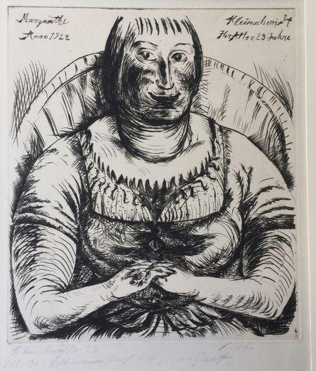 PAUL KLEINSCHMIDT, 'MARGARETHE', 1922