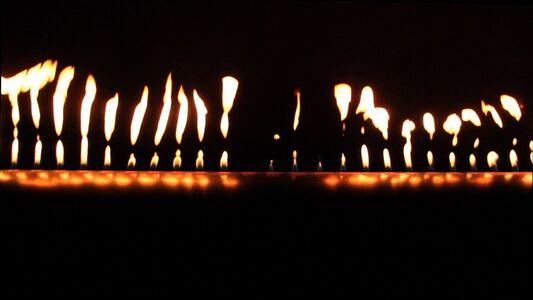 Aura Satz, 'Vocal Flame (film still)', 2012