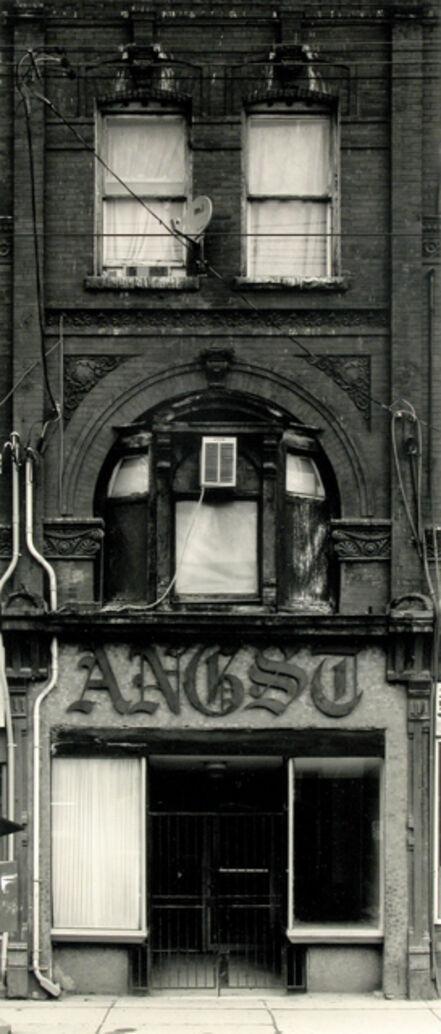 Volker Seding, 'Angst, 240 Queen St E, Toronto', 2003