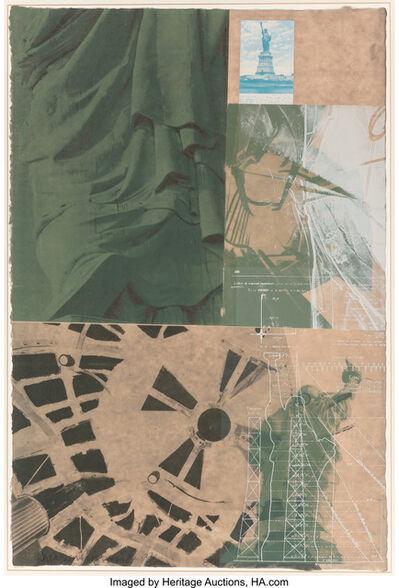 Robert Rauschenberg, 'Statue of Liberty, from the New York, New York portfolio', 1983