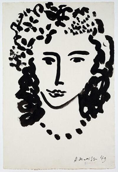 Henri Matisse, 'Large head', 1949