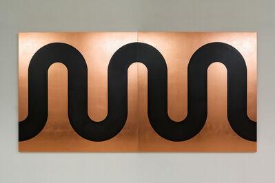 Edwin Monsalve, 'Copper River. Diptych', 2020