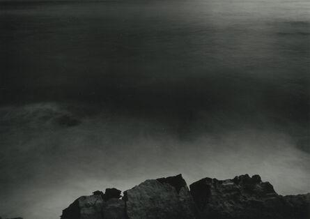Thomas Joshua Cooper, 'Clouded moonlight, South, South West - The Mid Atlantic Ocean, Cabo Trafalgar, Cadiz, Andalucia, Spain', 2003
