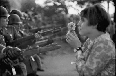 Marc Riboud, 'Jeune Fille à la fleur', 1967