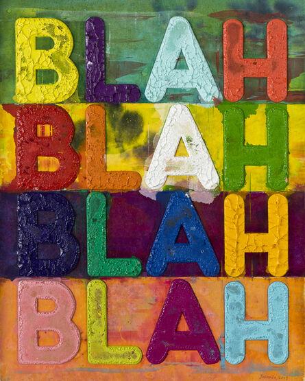 Mel Bochner, 'Blah Blah Blah', 2017