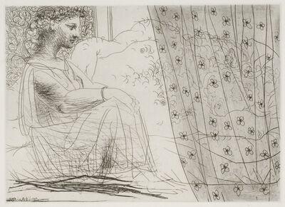 Pablo Picasso, 'Minotaure Endormi Contemple par une Femme', 1933