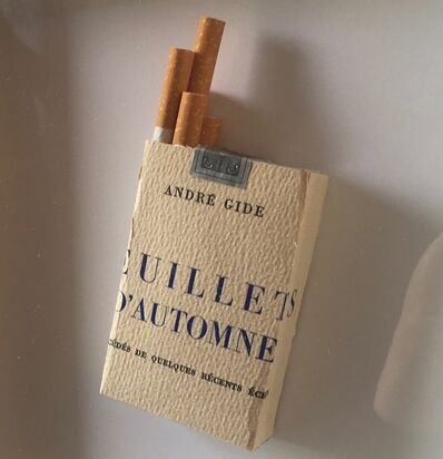 Peter Wüthrich, 'Literary smoke', 2010