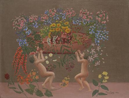 André Bauchant, 'Les Amours II', 1929
