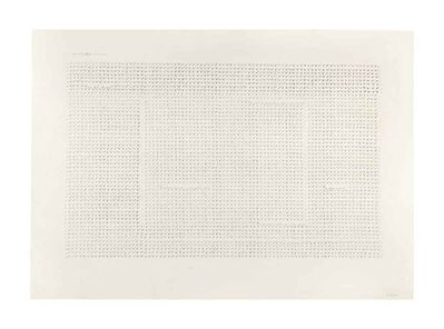 Carlo Alfano, 'Fragments / Autoportrait Anonyme', ca. 1972
