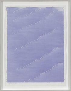 Irma Blank, 'Radical Writings, Dal libro del silenzio AX-1 ', 1983