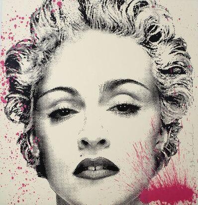 Mr. Brainwash, 'Happy B-Day Madonna (Pink Splash)', 2017