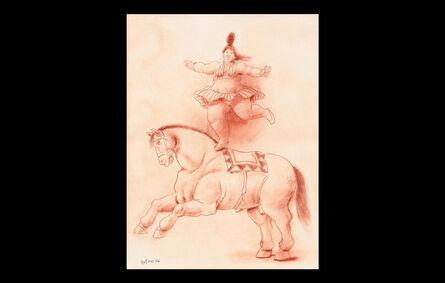 Fernando Botero, 'Danseuse équilibriste à cheval (Balancing dancer on horseback)', 2006