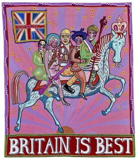 Grayson Perry, 'Britain is Best ', 2014