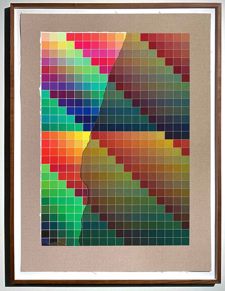 Analía Saban, 'Transcending Pigment from Paint to Canvas, from Canvas to Paint (Color) #1 No. III', 2020