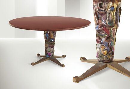 Melchiorre Bega, 'a table, Bologna', 1956