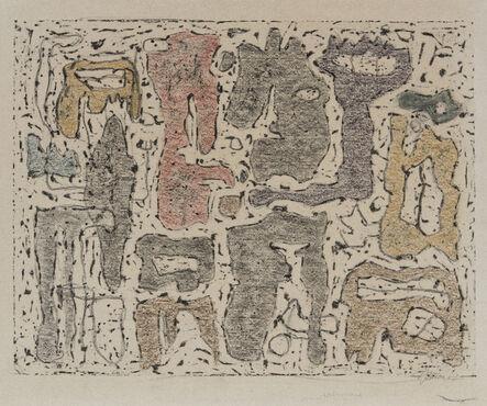 Willi Baumeister, 'Afrikanische Erzählung', 1942