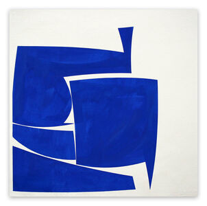 Joanne Freeman, 'Covers 24 Blue A Summer (Abstract painting)', 2016