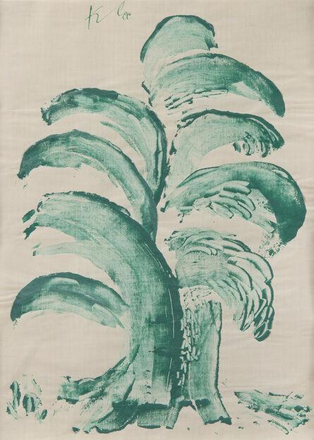 Paul Klee, 'Fontainen-Baum', 1939
