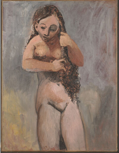 Pablo Picasso, 'Nude Combing Her Hair', 1906