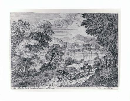 Adriaen Van Der Kabel, 'Shepherd Leading his Herd', 1600s
