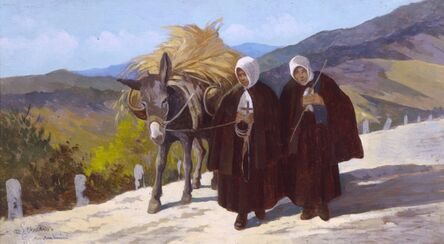 Giovanni Marchini, 'La questua', 1937