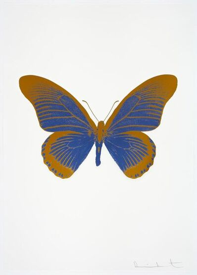 Damien Hirst, 'The Souls IV - Frost Blue - Paradise Copper', 2010