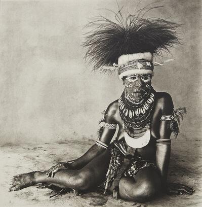 Irving Penn, 'Sitting Enga New Guinea Woman', 1970