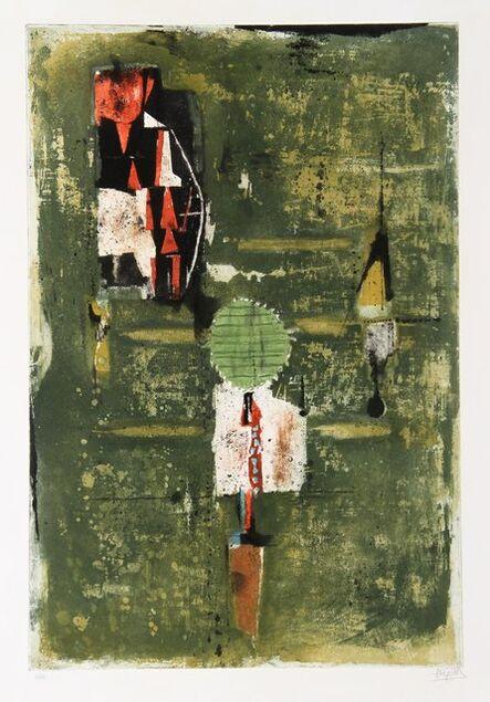 Johnny Friedlaender, 'Mi Octobre', 1969