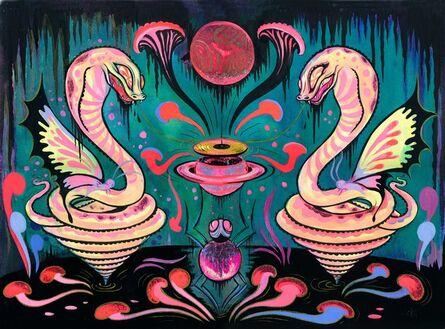 Camille Rose Garcia, 'Transmitter of Saturn'
