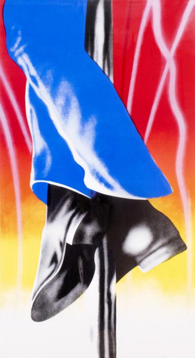 James Rosenquist, 'Expo '67 Mural - Firepole (Framed)', 1967