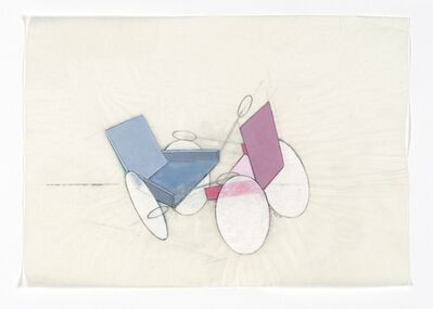 Renate Bertlmann, 'Rollstuhl - Kampf 4 [Wheelchair - Fight 4]', 1975