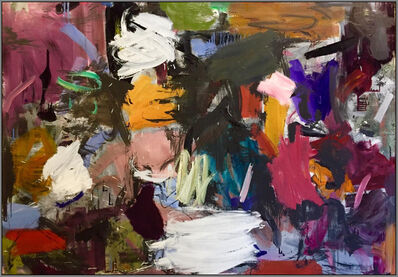 Scott Pattinson, 'Ouvert No 71 - large, vibrant, colourful, gestural abstraction, oil on canvas', 2018