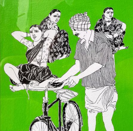 Laxman Aelay, 'Social Gathering - 01', 2015