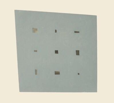 John Carter, 'Pierced shape (maquette)', 1991