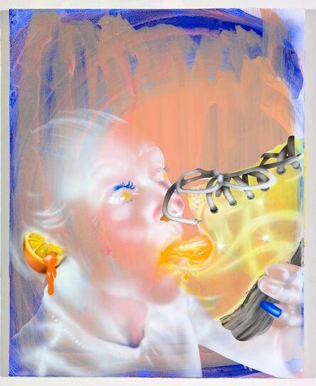 Emilie Stark-Menneg, 'Sneaker Juice', 2021