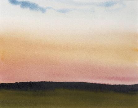 Susan Headley Van Campen, 'Sundown Back Field'