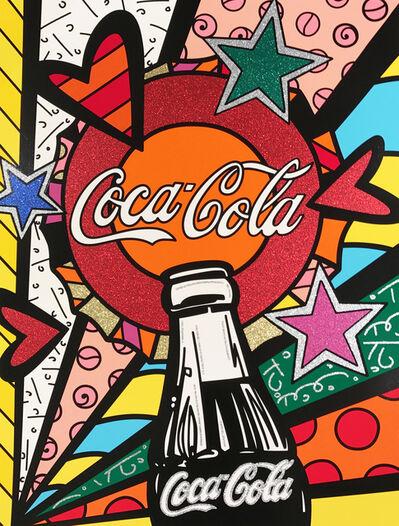 Romero Britto, 'Coca Cola III – Sunshine', 2016