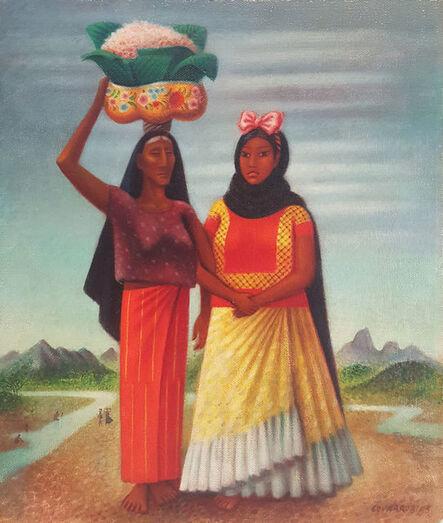 Miguel Covarrubias, 'Mujeres de Tehuantepec', ca. 1940