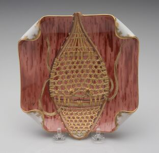 Theodore Russell Davis, 'Ice Cream Dish, from the Rutherford B. Haynes Presidential Service', 1879