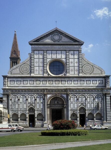 Leon Battista Alberti, 'Santa Maria Novella', ca. 1456, 70 [original structure 1278, 1350]