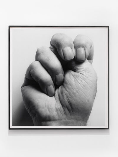 John Coplans, 'Self Portait (Clenched Fist over Thumb)', 1988